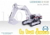 LIEBHERR R 9100 EIFFAGE Exclusivité