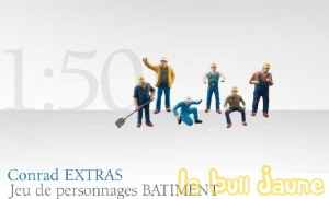 Lot de 6 figurines