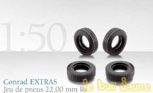 36 pneus 22 mm Rs