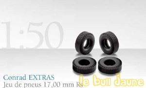 48 pneus 17 mm Rs