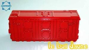 Transformateur rouge