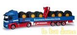 MB ACTROS MP04 grue chargement pneus