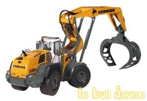LIEBHERR L580 forestier