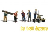 LOT DE FIGURINES RAIL
