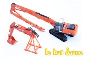 HITACHI ZX350-3 + 2 bras