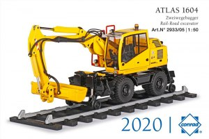 ATLAS 1604 rail route