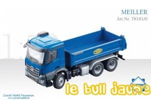 MB AROCS 6X4 benne MEILLER