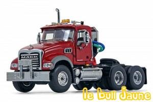 MACK GRANITE tracteur rouge