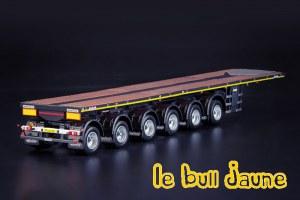 NOOTEBOOM 6 essieux+container