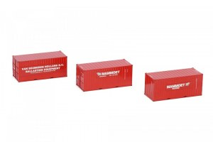 Set 3 containers MAMMOET