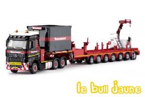 MB Arocs + 7 essieux + Fassi MAMMOET