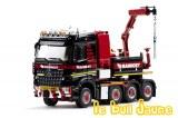 MB Arocs 8x4 + Ballastbox + Fassi MAMMOET