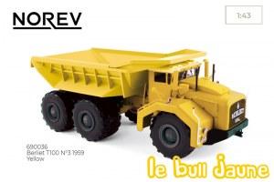 BERLIET T100 jaune