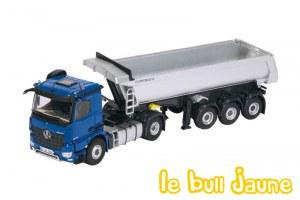 MB Arocs + Meiller bleu