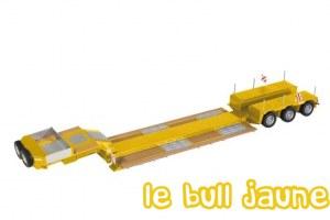 NOOTEBOOM 3 essieux jaune