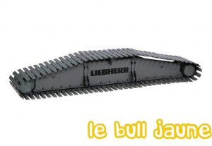 LIEBHERR LR 1600/2 TRAIN DE CHENILLE