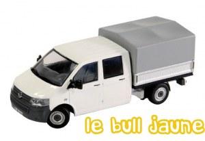 VW T5 bâché blanc