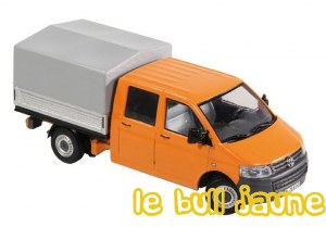 VW T5 bâché orange