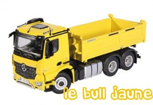 AROCS 6X4 BENNE JAUNE