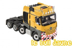 MB Actros 8x4 RAL 1007