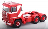 SCANIA LBT 141 rouge/blanc 1/18°