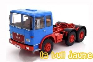 MAN 16304 F7 6x2 bleu 1/18°