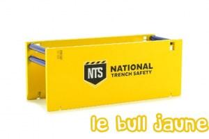 Blindage de tranchée NTS jaune