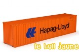 CONTAINER 40ft Hapag Lloyd