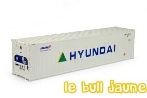 """CONTAINER FRIGO 40 """" HYUNDAI"""