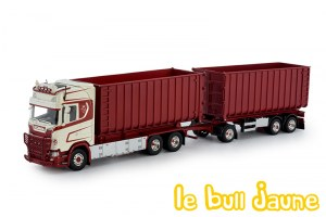 SCANIA S730 benne rouge