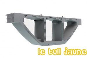 Pont de charge préfabriqué en poutre-caisson