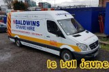 MB Sprinter Baldwins Crane Hire