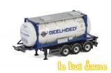 Remorque conteneur Geelhoed