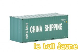 Container 20 ft China Shipping