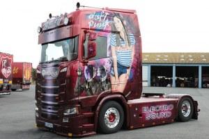 SCANIA S Transport Beau Electro Sound