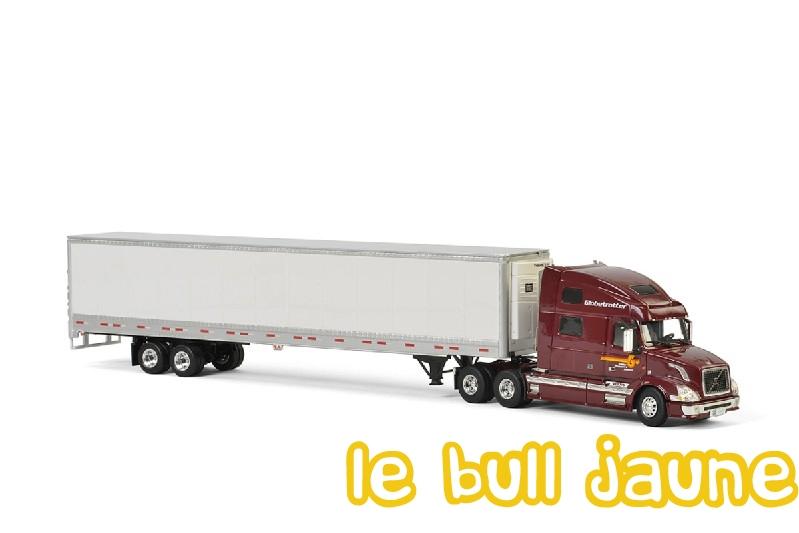 Wsi 01 2292 volvo vn 780 us 6x4 semi remorque frigo 2 - Transporter un frigo couche ...